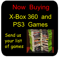 Now Buying - X-Box 360 and PS3 Games