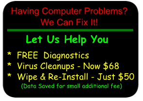 Having Computer Problems? We can Help You!